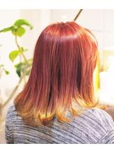 春色バイカラー pink×yellow.22