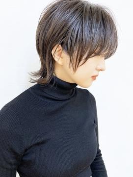 【morio成増/ムラマツ】アッシュブラウン ショートウルフ