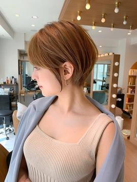 【石田勇士郎】インナーカラー髪質改善厚めバングスリークボブ