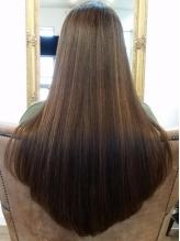 【髪に優しい】オイルinストレートなので驚くほど柔らかくて艶やかな仕上がりに!ダメージレスが嬉しい◎