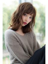 【Reginavita早川】フォギーベージュ秋ヘア くせ毛風.13