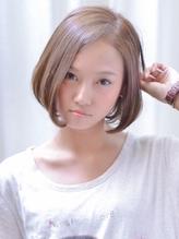 【VIRGO】小顔に見せる七三分け内巻きワンレングスボブ ワンレングス.52