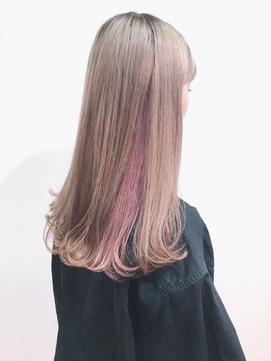 【koti原宿】UENO インナーパープルヘア