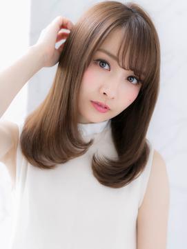 *LOREN*大人かわいい艶髪イルミナカラーナチュラルセミディ
