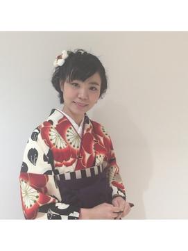 【siecle】卒業式 袴 ショート