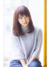 【Ramie寺尾拓巳】大人女子のピンクアッシュストレートミディ 大人女子.27