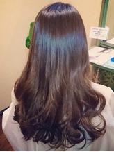 """≪スペシャルM3酵素カラー≫で""""うるツヤ美髪""""に!髪や頭皮へのダメージを気にせず、カラーを楽しめる♪"""