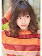 【Noah銀座】アレンジ簡単♪ゆるふわカールの愛されセミディ☆☆ ヘアアイロン.35