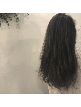 【sae】ダークアッシュ × ハイライト