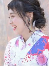 【Neolive横浜西口店】浴衣着付けヘアアレンジ☆ 涼しげ.45