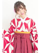 【hair coucou】袴レンタル+着付+ヘアセット 卒業式パック 七五三.49