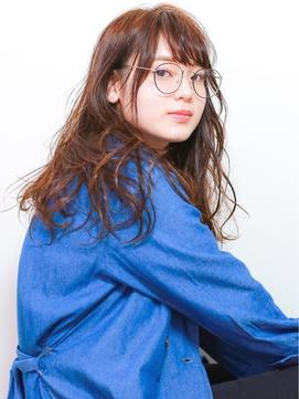【eTONe】オシャレなメガネが可愛いウェットスタイリング