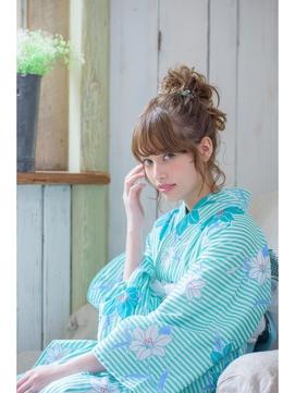 【池袋Neolive 】  浴衣着付け&ヘアセット¥5710