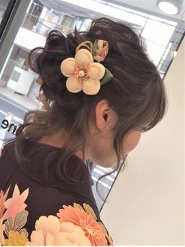 色っぽ可愛い☆袴☆和装ヘアアレンジ【新小岩】