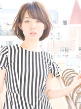 30代40代からのパーソナルカラーナチュラル毛束感ひし形ショート ママ.56