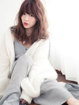 空気感×エレガンス☆女っぽフェアリーとろみセミロング
