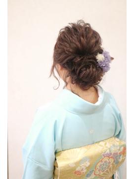 【Cogic】着物に似合うヘアアレンジ