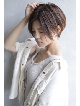 【+~ing deux】ラフハンサムショート【辻口俊】