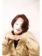 【coma中野】前髪長めの色気エッジショートくびれセミディ.20