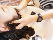 細くボリュームのない髪、根元から立ち上がるふんわりとした艶髪。2つの髪の違いは
