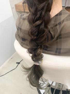 【 elua MIKI 指名限定】編みおろし♪ヘアセット