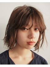 【nanuk Kazumi】前髪パーマでアンニュイなボブに.10