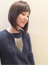 【M.SLASH】黒髪・ツヤ感・前下がりボブ 大人カワイイ.37