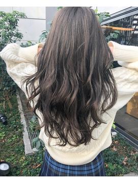 バイオレットアッシュ&外国人風カラー&くせ毛風&モテ髪カタログ