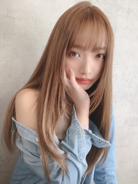 【ASTRANTIA】髪質改善ストレート*美ツヤロング/kie