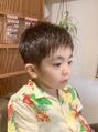 【CHAIR2021夏】キッズシャギーバングショート