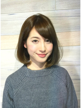 VERY・STORY世代に大好評☆お手入れ簡単艶ワンカールボブ VERY.6
