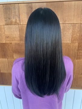 黒髪風ブルーブラック