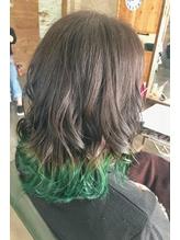 裾カラー グリーン.3