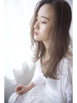 【西新井】ハイライトカラー/メッシュカラー/フェミニンロング