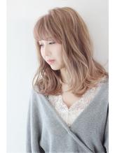 【Lola】ゆるふわニュアンスミディアム 前髪パーマ.46