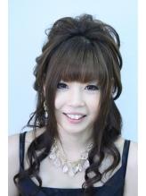 盛り髪ダウンセット 盛り髪.38