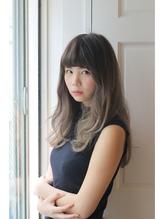 【FERIA】グラデーションカラー×3Dカラー ブラウンアッシュ.17