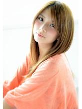 #hairsalon de Foreve Lux#ハイトーン鎖骨ロング .46
