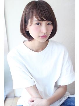 【畑中正敏】ブルージュカラー&似合わせカットショートボブ