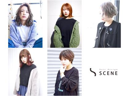 シーン(hair design SCENE) image