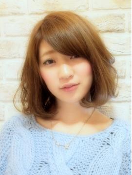 大島優子風ヘアスタイル・髪型