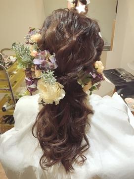 2020年冬】カラードレスのヘアスタイル・ヘアアレンジ・髪型