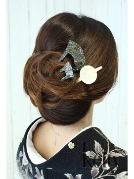 襟足隠す和髪【TELでお得】日本髪等のイベントset¥3000→¥2500