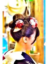 日本髪 七五三.49