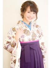 【hair coucou】袴レンタル+着付+ヘアセット 卒業式パック 七五三.50