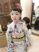 おしゃれキッズ七五三着付けヘアメイク【ヘアアレンジ 立川】.14