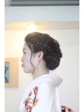 ギブソンタックスタイル まとめ髪.46