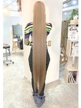 渋谷ナチュラルストレート髪質改善トリートメントイルミナカラー