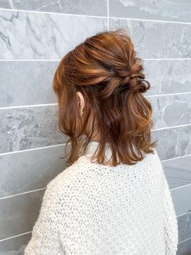 【AUBE HAIR】外ハネボブアレンジ