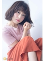 【aL-ter LieN TAKU】小顔カット☆柔らかパーマボブ 千葉